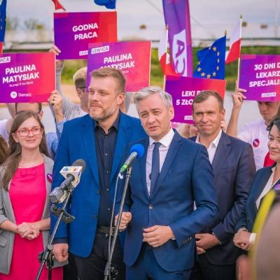Liderzy Lewicy w Łodzi i Sieradzu